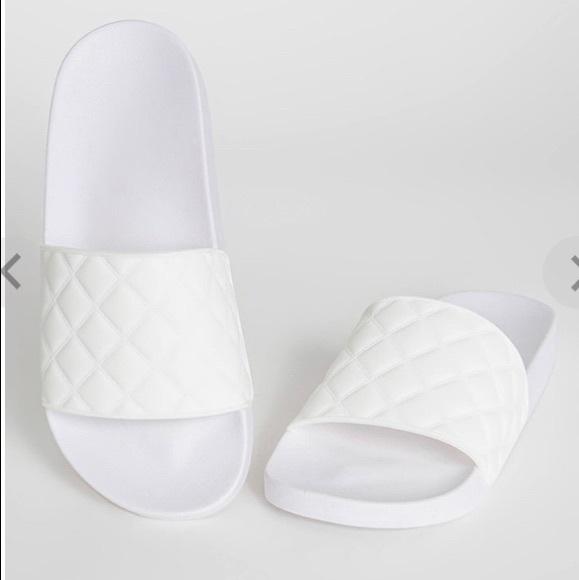 GoJane Shoes - White slides
